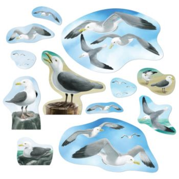Sea Gull Cut Outs
