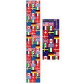 International Flag Cut Out