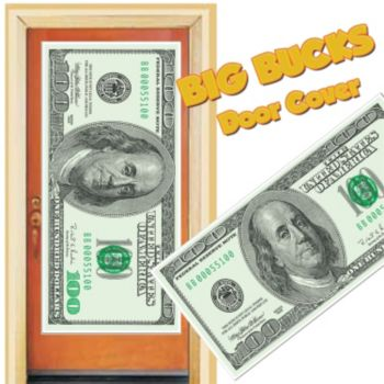 Big Bucks  Door Cover