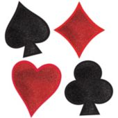 Card Suit Cutouts-4 Pack