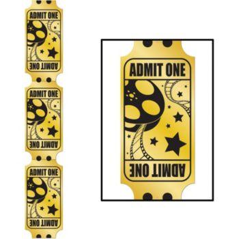 Gold Ticket Cutout