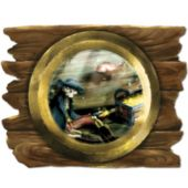 Pirate Ship Porthole Cut Out