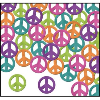 Peace Sign Confetti