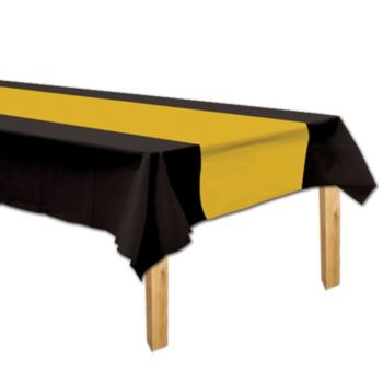 Black & Gold  Table Cover