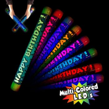 Happy Birthday LED Lumiton - 16 Inch