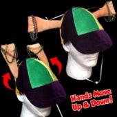 Mardi Gras Clapper Hat