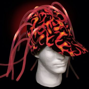 Red LED Noodle Cap