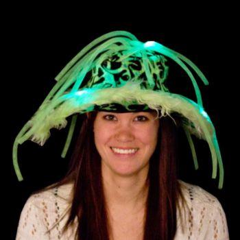 Green L.E.D. Show Daddy Noodle Hat