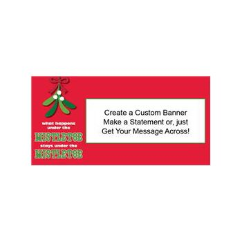 Mistletoe Secrets Custom Banner (Variety of Sizes)