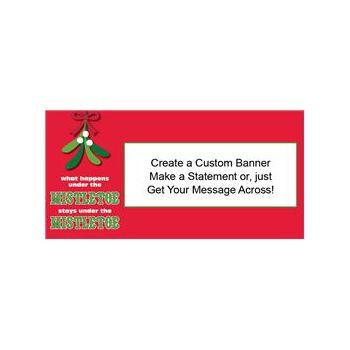 Mistletoe Secrets Custom Banner (Variety of Sizes)