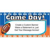 Super Sunday Yardline Custom Banner (Variety of Sizes)
