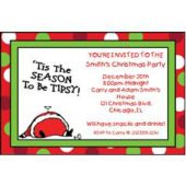 Tis The Season Personalized Invitations