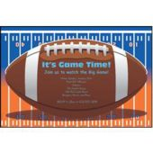 Super Football Game Xlvi Personalized Invitations