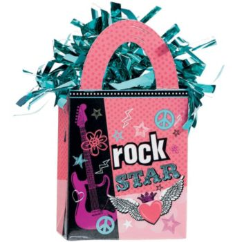 Rocker Girl  Balloon Weight