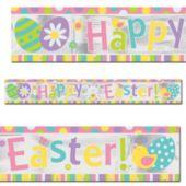 Easter Foil Banner
