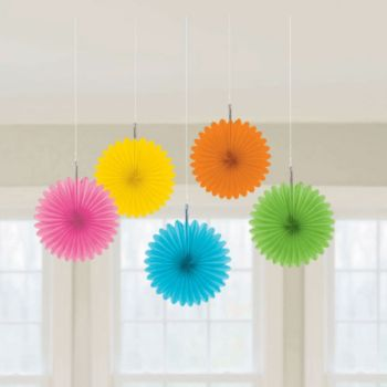 Colorful Hanging Mini Fans