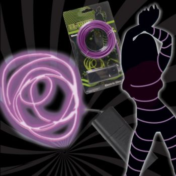 El-wire purple 116''