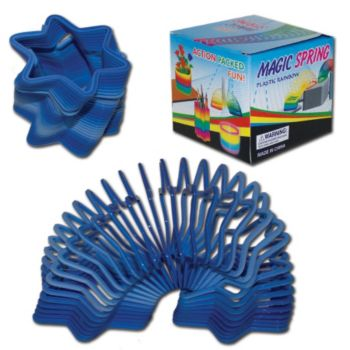 Blue Star Shape Spring Toys