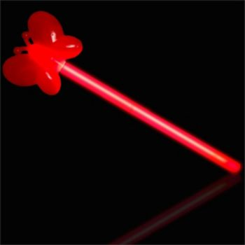 Red Butterfly Glow Wand