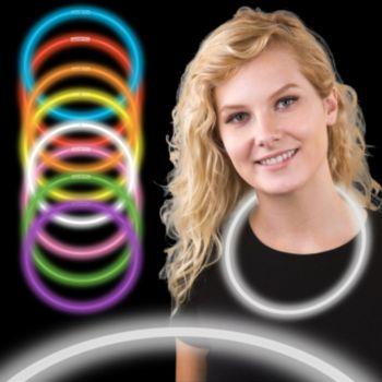 22 Inch White Supreme Glow Necklaces