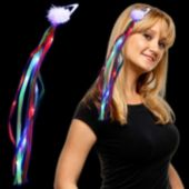 Rainbow L.E.D. Ribbon Fascinator