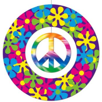 Peace Sign  Hanging Decoration