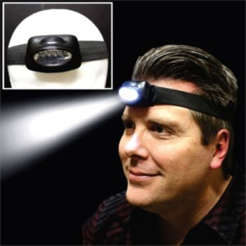 LED Headlight Headband