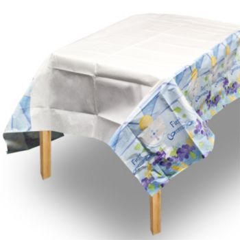 Blue First Communion Table Cover