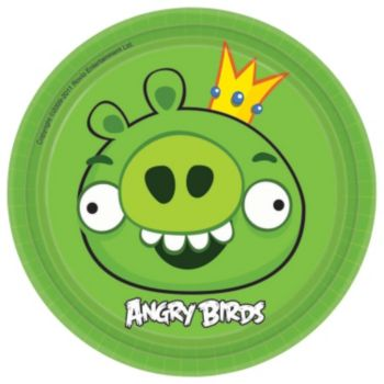 "Angry Birds  7"" Plate"
