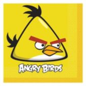 Angry Birds Lunch Napkins - 16 Pack