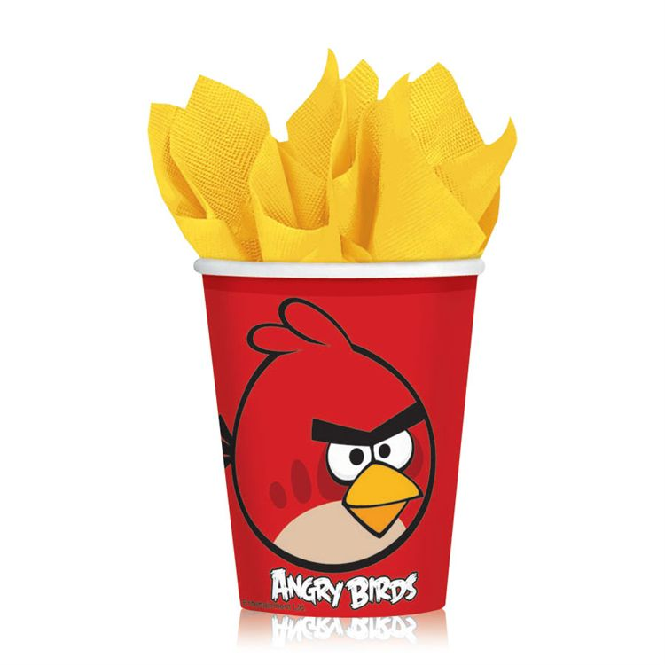 Angry Birds 9 Oz Cups - 8 Per Unit PAP3710CUN