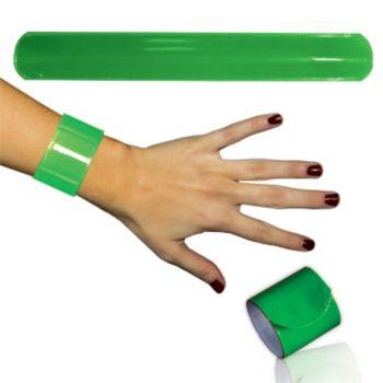 Green Slap Bracelets