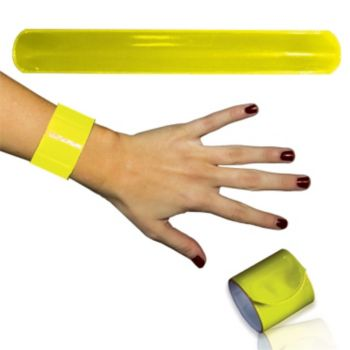 Yellow Slap Bracelets