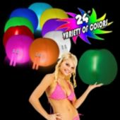 "24"" Glowing Beach Balls - Variety of Colors"