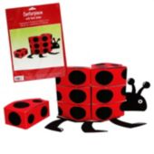 Ladybug Centerpice With Favor Boxes