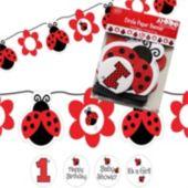 Ladybug String Banner