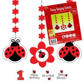 Ladybug Danglers