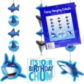 Shark Splash Birthday Danglers