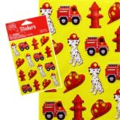 Firefighter Stickers - 16 Pack