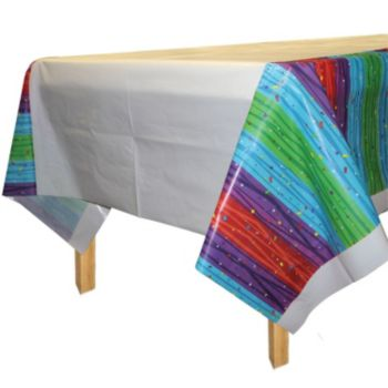 Rainbow Celebration  Table Cover