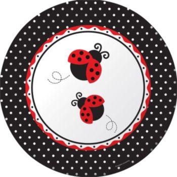 "Ladybug  10 14"" Plate"
