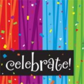 Rainbow Celebration Lunch Napkins - 16 Pack