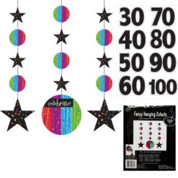 Rainbow Celebration Birthday Danglers