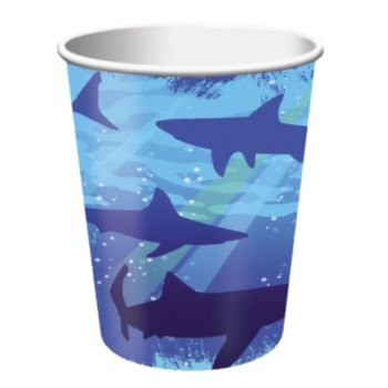 Shark Splash 9oz Cups
