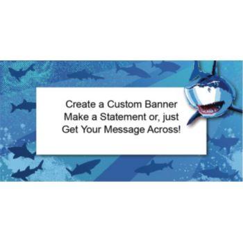 Shark Splash Custom Banner