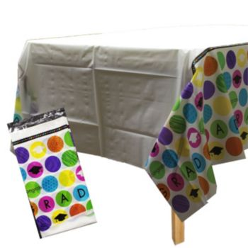 Graduation Dots  Table Cover