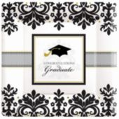 "Sophisticated Graduate 7"" Plates - 18 Pack"