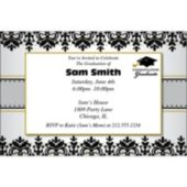 Sophisticated Graduate Personalized Invitations