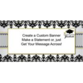 Sophisticated Graduate Custom Banner