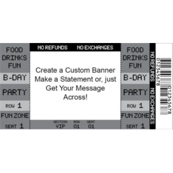 Black Ticket Custom Banner
